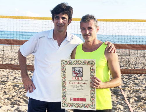 Satisfacció dels nous Instructors de Beach Tennis